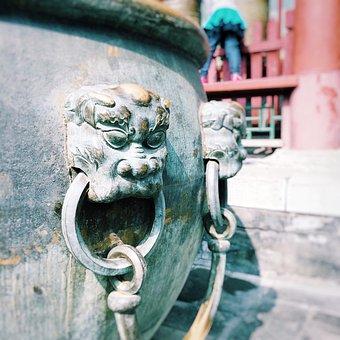 Tourism, Beijing, Cultural Relic, Lion, Decoration
