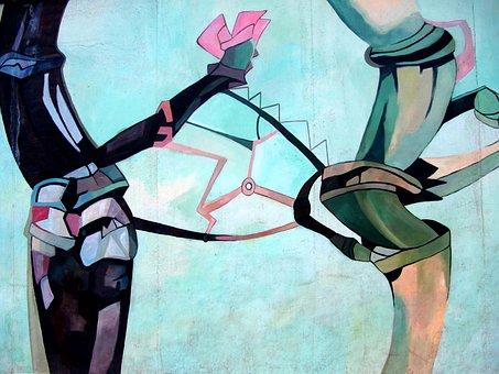 Berlin Wall, Wall, Berlin, Graffiti, East Side Gallery
