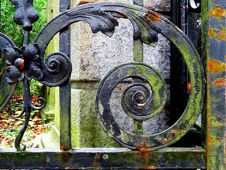 Iron Gate, Wrought Iron, Metal Gate, Art Forging