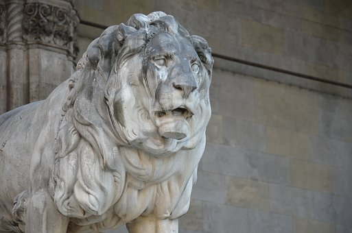 Lion, Statue, Sculpture, Stone Figure, Stone Sculpture