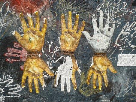 Berlinen Mauer, Art, Berlin Wall, History, Symbol, War