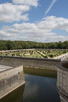 Castle, Loire Valley, Château De Chenonceau