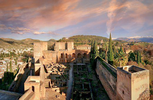 Spain, Grenade, Andalusia, Stones, Moorish, Arabic