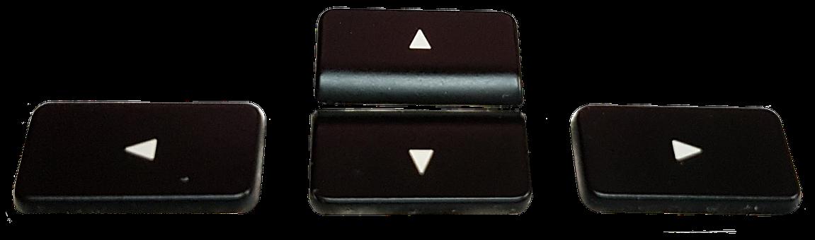 Arrow Keys, Isolated, Keyboard, Keys, Png