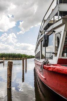 Lake, Ship, Water, Shipping, Passengers, Seafaring