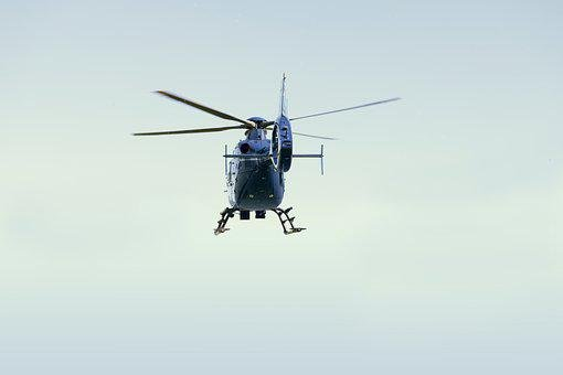 Helicopter, Police, Air Monitoring, Helicopter Rescue