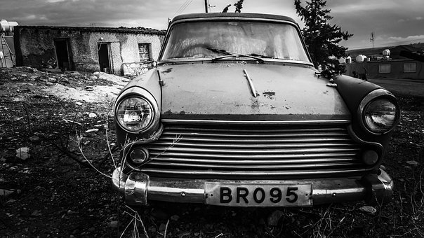 Old Car, Rusty, Abandoned, Antique, Wreck, Broken, Aged