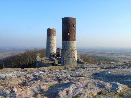 Checiny, Castle, Poland, Swietokrzyskie, Monument