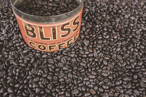 Coffee Beans, Beans, Roast, Can, Bliss, Container