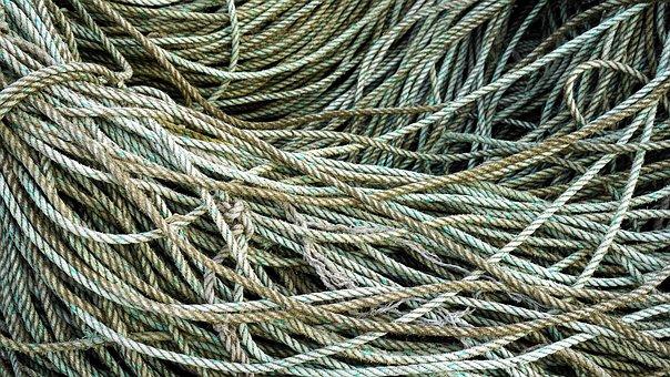 Rope, Tangle, Nautical, Marine, Cord, Pattern, Knot