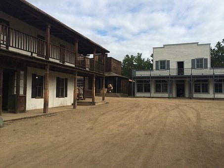 Paramount Ranch, Malibu, Movie Set, Old West