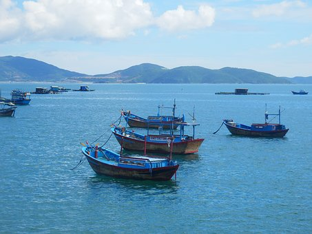 Boats, Nhatrang, Viet Nam