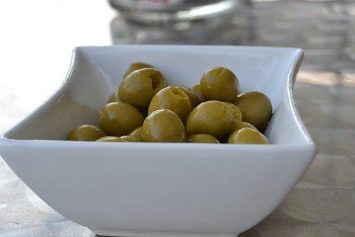 Olives, Appetizer, Oil, Olivas, Stuffed Olives