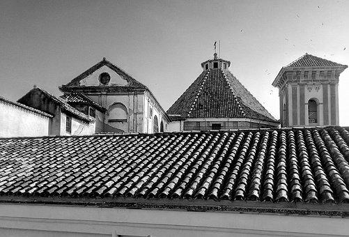 Roofs, Dome, Buildings, Architecture, Malaga, Church