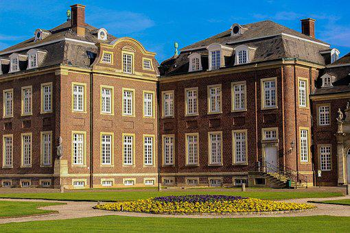 Castle, Schloss Nordkirchen, North Churches
