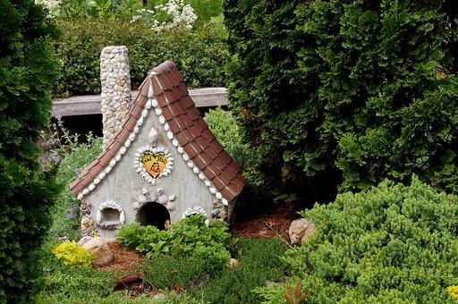 House, Frog, Toad, Animal, Fairy, Garden, Tiny, Small