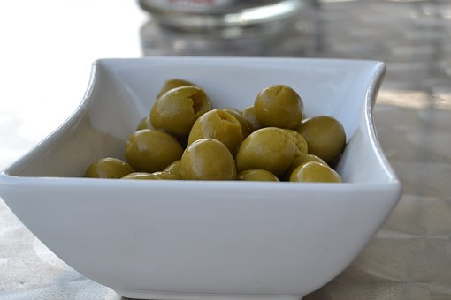 Olives, Appetizer, Oil, Olivas, Stuffed Olives