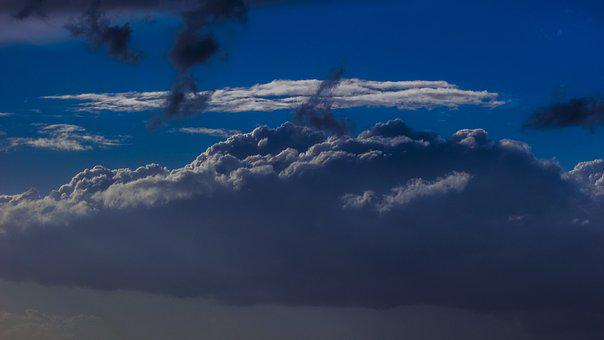 Clouds, Sky, Sky Clouds, Blue Sky Clouds, Weather