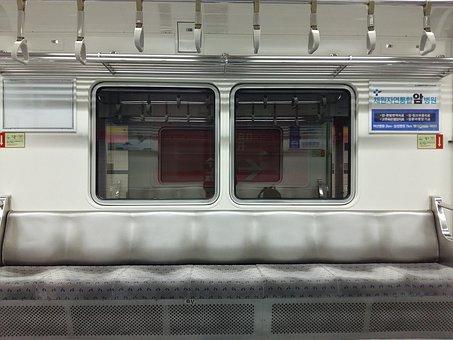 Subway, Seating, Commuting, Window, Railway, Train