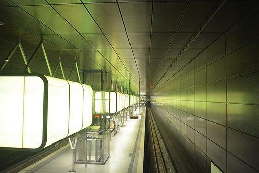 Architecture, Metro, Hamburg, U4