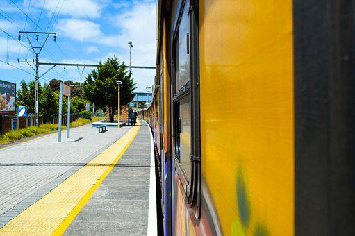 Train, Station, Transportation, Railroad, Metro