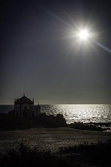 Sol, Ocean, Beach, Mar, Landscape, Litoral, Horizon