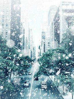 New York, Ny, Big Apple, City, Usa, Skyscraper, Taxi