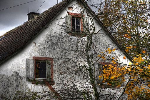 Home, Old, Leave, Lapsed, Facade, Old House