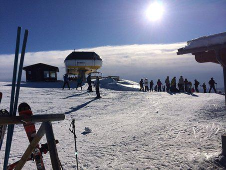 Ski, Snow, Solar, Idre, Mountain, Ski Resort, Sweden