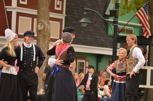 Dance, Dutch, Ethnic, Dancing, Netherlands, Holland