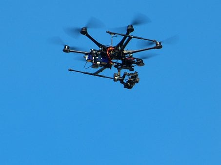 Air Monitoring, Hexacopter, Quadcopter, Drone