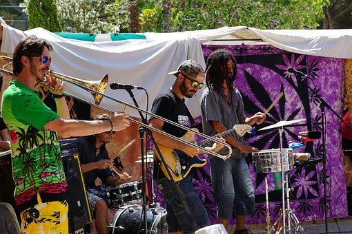 Musician, Band, Man, Concert, Live Music, Town Festival