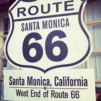 Route 66, Highway, Roadtrip, 66, Route, Sign, Road, Usa