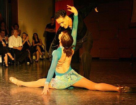 Latin, Dance, Tango, Ballroom, Dancing Couple