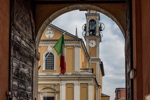 Church, Campanile, Italy, Prospect Tower, Sanctuary