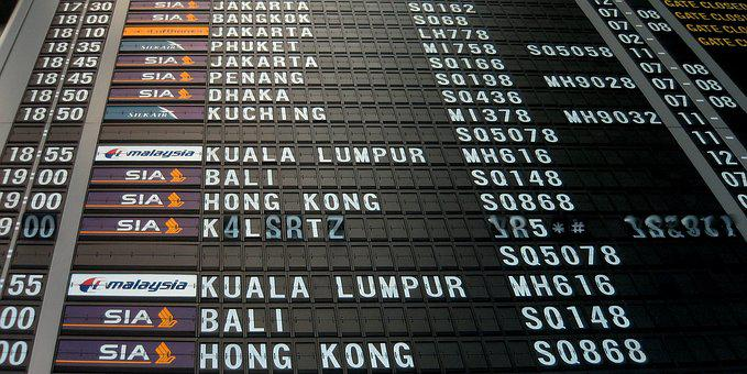 Airport, Board, Time, Departure, Transportation