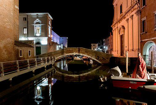 Chioggia, Veneto, Channel, Water, Walk, Venice, Italy