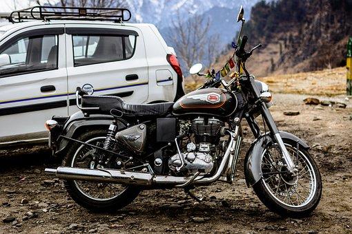 Bullet, Royal Enfield, Motorcycle, Bike, Enfield, India