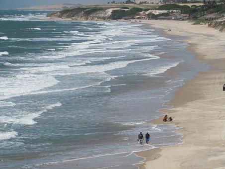 Mar, Beach, Tourism, Ceará, Landscape, Holidays, Nature