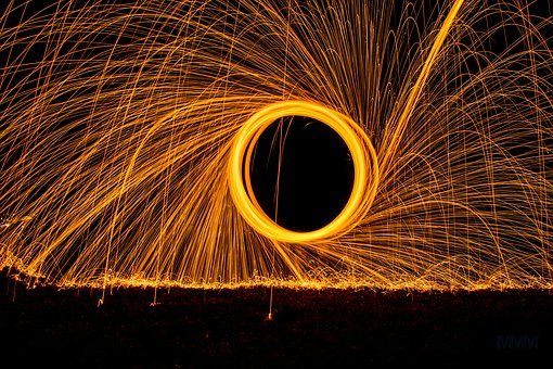Radio, Steel Wool, Swirl, District, Photo, Font