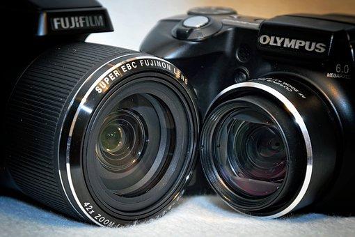 Cameras, Lenses, Detail, Zoom, Bird Olympus, Optics