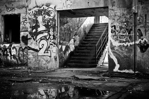 Old, Decay, Ruin, Railway Depot, Train, Train Hall