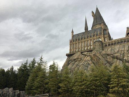 Hogwart, Universal Studios, Castle, Harry Potter