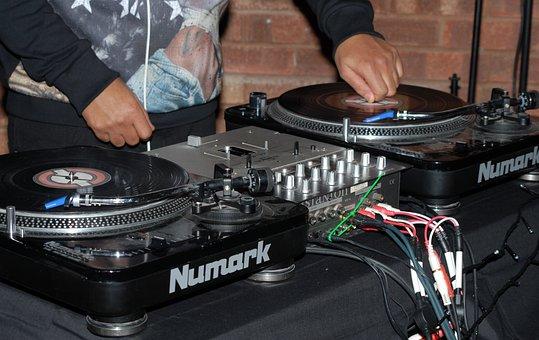 Dj, Decks, Music, Turntable, Entertainment, Mixing