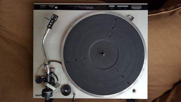 Vinyl, Vintage, Spins Disks, Techniques, Dj, Music