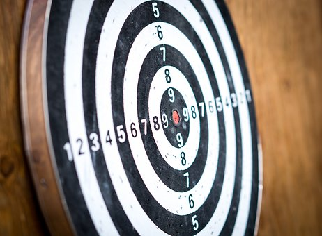 Dart Board, Darts, The Accuracy Of The, Competition