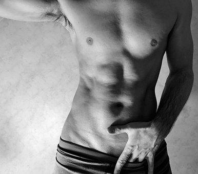Guy, Body, Fitness, Nude, Self Portrait, Sexy, Man