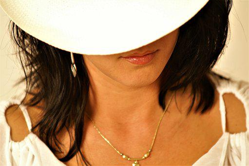 Face, Woman, Hat, Human, Portrait, Female, Head, Beauty