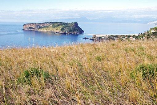 Praia A Mare, Island Dino, Calabria, Italy, Landscape