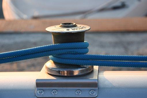 Yachting, Ropes, Yacht, Boat, Sailboat, Nautical, Sea